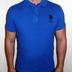 Tricouri U.S. POLO ASSN. - Noua Colectie !!! - Tricou barbati US Polo Assn, Marime: S, M, L, XL, XXL, Culoare: Albastru, Maneca scurta, Bumbac