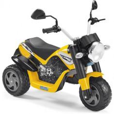 Tricicleta Ducati Scrambler cu Acumulatori - Masinuta electrica copii Peg Perego