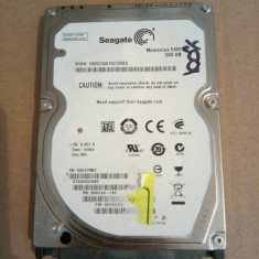 Hard Disk / HDD SATA SEAGATE MOMENTUS 500GB 100% HEALTH Laptop - HDD laptop Seagate, 500-999 GB, Rotatii: 5400
