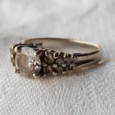 Inel argint VECHI Finut Delicat SPLENDID vintage Superb Elegant de Efect