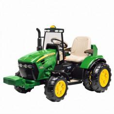 Tractor John Deere Dual Force - Masinuta electrica copii Peg Perego