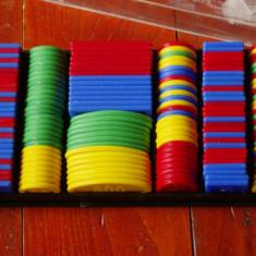 Fise / Jetoane de la un joc vechi Monopoly - cutie originala !!! - Joc colectie