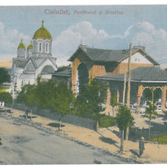 3801 - ( 12773 ) Romania - CALAFAT, Church - old postcard - used - 1916 - Carte Postala Oltenia 1904-1918, Circulata, Printata