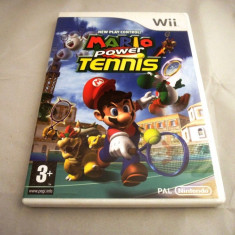 Mario Power Tennis, Wii, original, alte sute de jocuri! - Jocuri WII Ubisoft, Actiune, 3+, Multiplayer