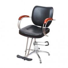 Scaun coafor frizerie rotativ suport picioare NOU dotari salon mobilier saloane