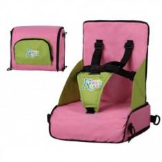 Scaun de masa Inaltator portabil pliabil Roz Kiokids
