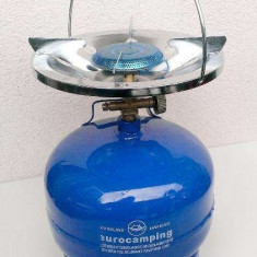 Butelie de voiaj 3Litri + arzator pentru gatit - Aragaz/Arzator camping