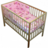 Lenjerie patut Hubners Printesa cu Ursulet 4 piese roz