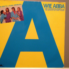 ABBA - THE BIG HITS (1980/ARIOLA/RFG) - Vinil/Vinyl - Muzica Pop universal records
