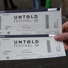 BIlet Untold 4 zile 2017 - Bilet concert