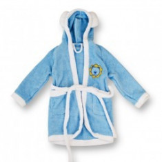 Halat Baie MyKids Albastru 2-4 ani - Prosop baie copii