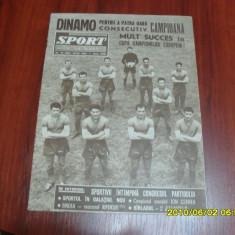 Revista Sport iulie 1965