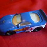 Miniatura Masinuta de curse-Hot Wheel  -firma Mattel ,metal si plastic ,L=7,8cm