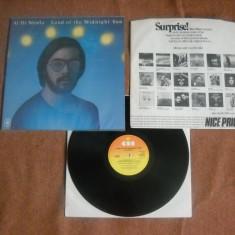 AL DI MEOLA: Land Of The Midnight Sun (1976) (vinil jazz rock, Made In England) - Muzica Jazz Altele