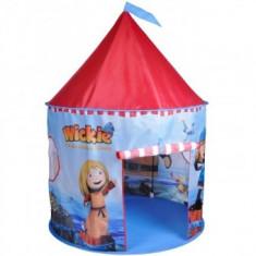 Cort de joaca pentru copii Wickie Castel - Casuta/Cort copii