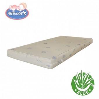 Saltea Cocos Confort II cu Aloe Vera 120x60x8 cm foto mare
