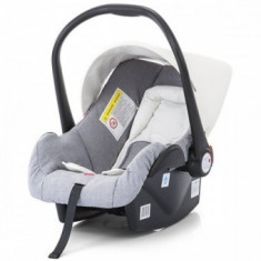 Cos auto copii 0-13kg Chipolino Pooky white - Cos portbebe