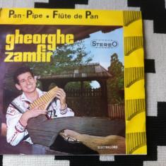 Gheorghe zamfir pan pipe flute pan nai disc vinyl lp Muzica Populara electrecord folclor, VINIL