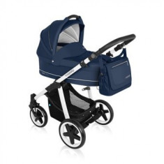 Carucior 2 in 1 Baby Design Lupo Comfort Navy - Carucior copii 2 in 1