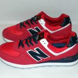 Adidasi NEW BALANCE 574 - Negru / Rosu - Noua Colectie !!!