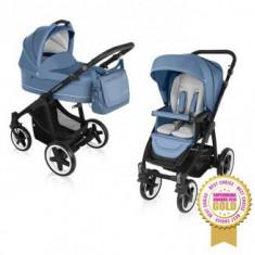 Carucior 2 in 1 Baby Design Lupo Comfort Jeans - Carucior copii 2 in 1