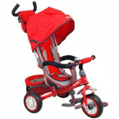 Tricicleta multifunctionala Sunny Steps Red - Tricicleta copii