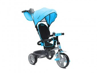 Tricicleta Copii Moni Flexy Albastru foto mare