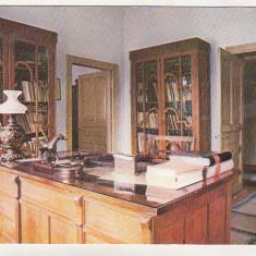 Bnk cp Valenii de Munte - Muzeul Nicolae Iorga ) - Vedere - necirculata - Carte Postala Muntenia dupa 1918, Printata