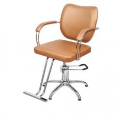 Scaun coafor frizerie rotativ suport picioare regl dotari salon mobilier saloane