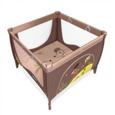 Tarc de joaca cu inele Baby Design Play UP Brown 2016