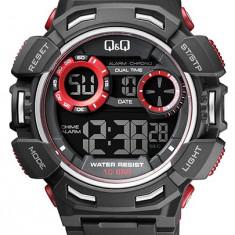 Ceas Q&Q barbatesc cod M148J001Y - pret 129 lei (NOU; ORIGINAL) - Ceas barbatesc Q&Q, Sport, Quartz, Cauciuc, Alarma, Electronic