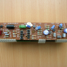 Placa preamplificator corector ton Telefunken