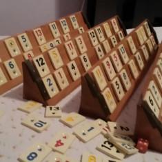 Rumy remi remy din lemn masiv - Joc board game