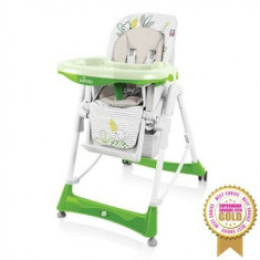 Scaun de masa Baby Design Bambi Green