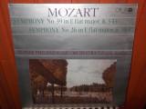 -Y- MOZART - SYMPHONY NR 39 / 26  - SLOVAK PHILHARMONIC ORCHESTRA ZDENEK KOSLER, VINIL