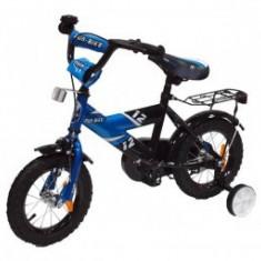 Bicicleta pentru copii Fun Bike Blue 12 - Bicicleta copii