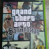 Vand joc xbox 1 clasic, GTA SAN ANDREAS, colectie, ca nou - Jocuri Xbox Activision, Actiune, 18+, Single player