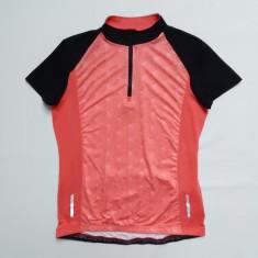 Tricou ciclism Crivit Sports; 54 cm bust, 68 cm lungime, 42 cm intre umeri - Echipament Ciclism