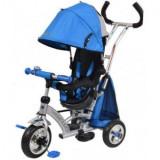 Tricicleta cu sezut reversibil Sunrise Turbo Trike Blue - Tricicleta copii