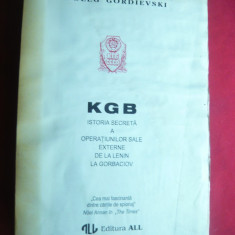 Christopher Andrew, Oleg Gordiewski -KGB-Istoria Secreta a operatiunilor sale - Istorie