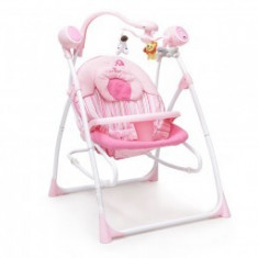 Balansoar Electric CANGAROO Swing Star Roz - Balansoar interior