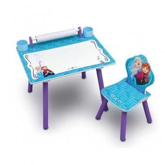 Set masuta pentru creatie cu 1 scaunel Frozen foto mare