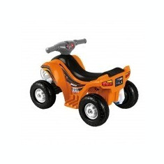ATV COPII-Quad Flash Feber Quad Flash Feber cu acumulator, viteza 2 km/h. - Masinuta electrica copii