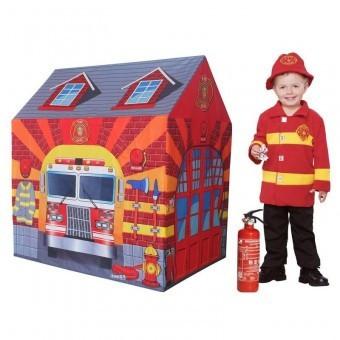 Cort de joaca pentru copii Statia de Pompieri foto