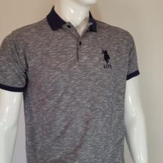 Tricou U.S. Polo Assn - Tricou barbati US Polo Assn, Marime: L, XL, Culoare: Gri, Maneca scurta