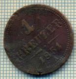 10795 MONEDA- AUSTRIA - 1 KREUZER -anul 1851 A -STAREA CARE SE VEDE, Europa