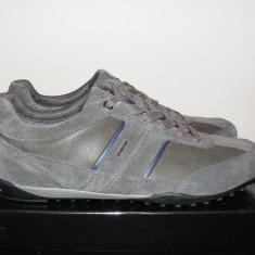 Pantofi Geox din piele naturala si piele intoarsa nr. 42 - Pantof barbat Geox, Culoare: Din imagine, Sport