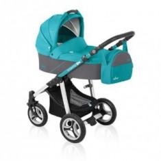 Cărucior 2 in 1 Baby Design Lupo Turquoise 2016