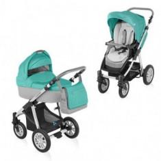 Carucior 2 in 1 Baby Design Dotty Turquoise - Carucior copii 2 in 1