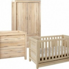 Set mobilier 3 Piese Milan Reclaimed Oak - Set mobila copii
